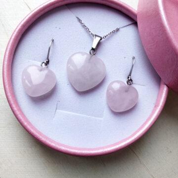 Sada šperků Růženínová srdce #1