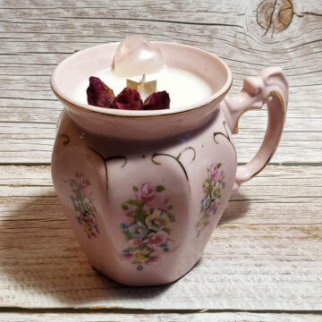 Sójová svíčka Růžová láska II #1