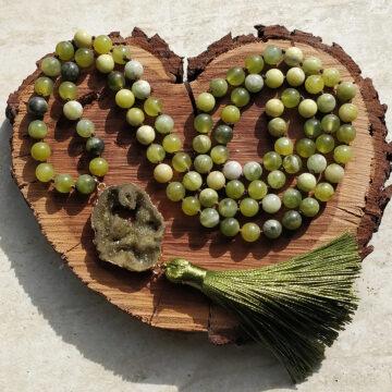 Japa Mala Regeneratio z jadeitu #1